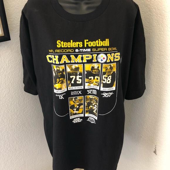 Reebok Pittsburgh Steelers Mens Shirt Size XL NEW ce9752c1c